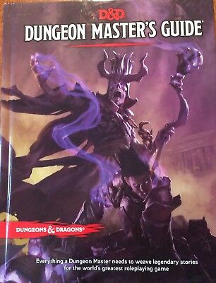D&D Dungeons and Dragons Dungeons Master Guide 5te