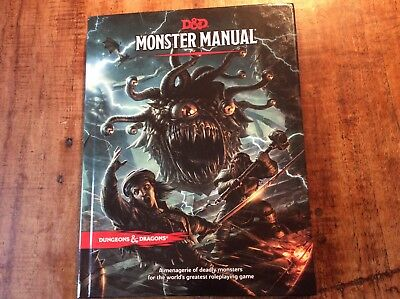 D&D dungeons dragons monster manual
