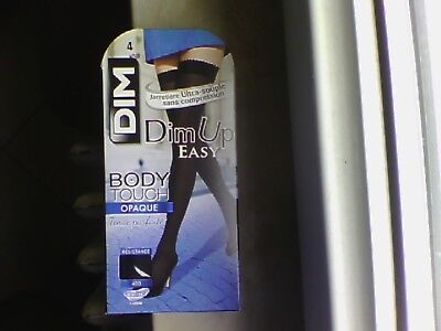 BAS DIM UP easy body touch Taille 4 Noir opaque 40 D neuf - EUR 9 6f653f64f3b