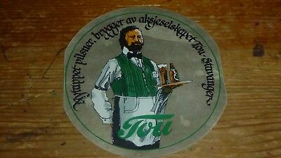Ie...norway Norge Tou Bryggery Old Beer Label 223