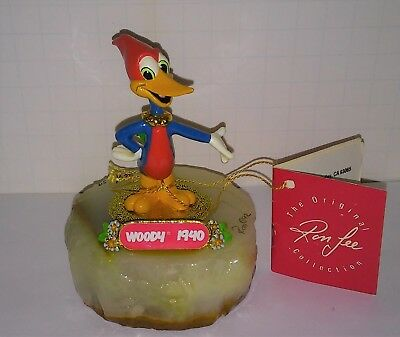 Woody Wood Pecker 1940s  Walter Lantz Ron Lee limited sculpture casting colorful