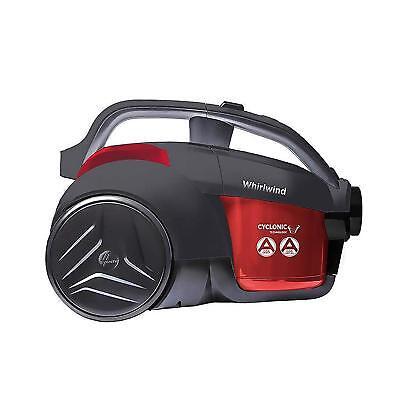 Hoover LA71WR10 Whirlwind Bagless Cylinder Vacuum Cleaner 1.2L 700W Red/Grey