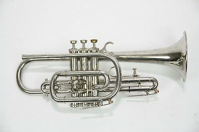 Cornet F. Besson Breveté Long model very exclusive from 1949