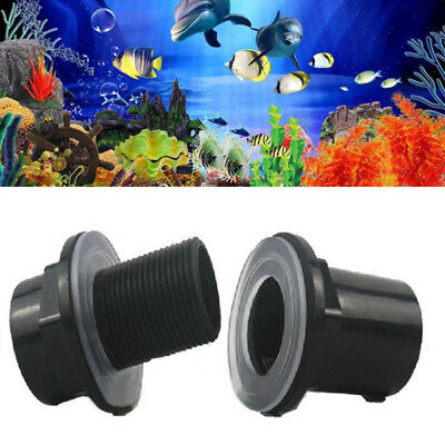 Waterproof Pipe Connector Joint Black PVC 20/25/32/40/50mm