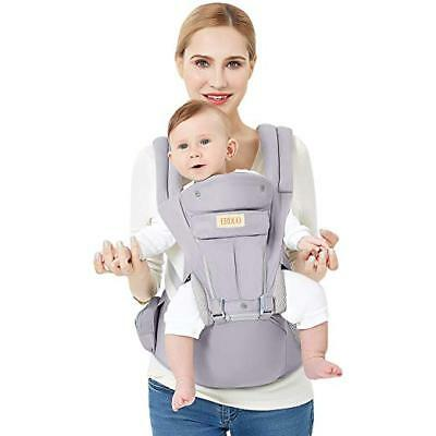 3D Baby Hip Carrier All Season Baby Sling with 9 Carry Positions Truly Hands