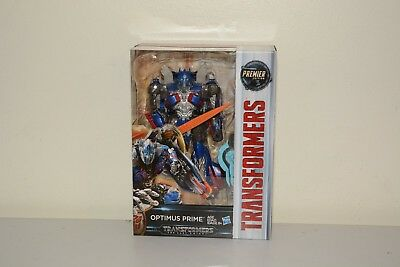 Transformers The Last Knight Premier Edition Voyager Optimus Prime - Brand New