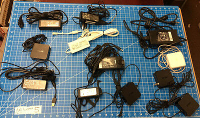 Lot Of 12 Oem Ac Adapters Hp Asus Lenovo Samsung Dell Acer Apple 45N0491 Other