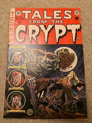 Tales From The Crypt #37 AUG-SEPT 1953 By DC Comics.