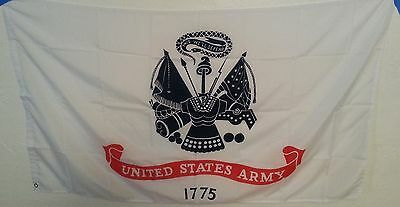 Large US United States Army Military Flag This We'll Defend W/ Grommet USA