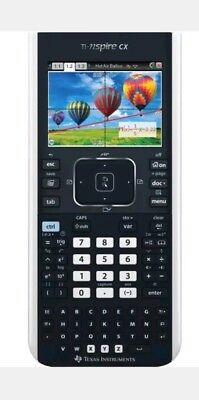 Texas TI-Nspire CX Colour Graphic Touchpad Calculator & Software Xmas gift