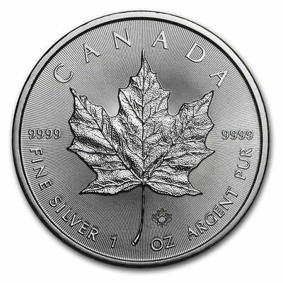 2017 1 oz Canada Silver Maple Coin (BU) .