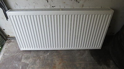 RADIATORS 1200 x 600 Double Type 22 with brackets white central Heating