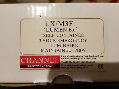 Channel Safety Systems E/lx/m3F Emergency Exit Box