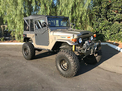 1973 Toyota Land Cruiser FJ40 1973 Toyota Land Cruiser FJ40 LS powered Off Road Rock crawler