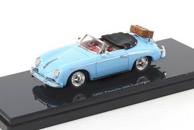 1957 Porsche 356 Speedster, with Luggage Model Car in 1:43 Scale by TSM