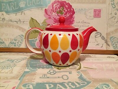 Striking Whittard Of Chelsea Chatsford Bright Funky Teapot
