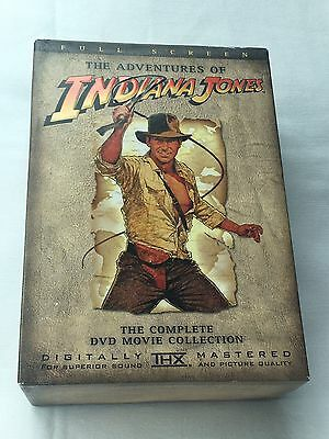 The Adventures of Indiana Jones: The Complete DVD Movie Collection (Full Screen