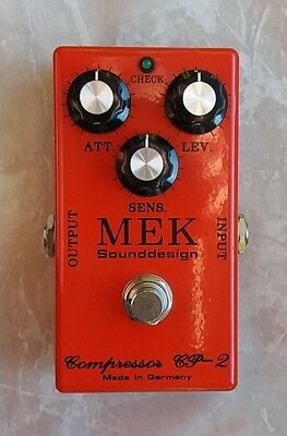 MEK CP-2 Compressor Sustainer Gitarren-Effekt-Pedal Handmade in Germany by UK
