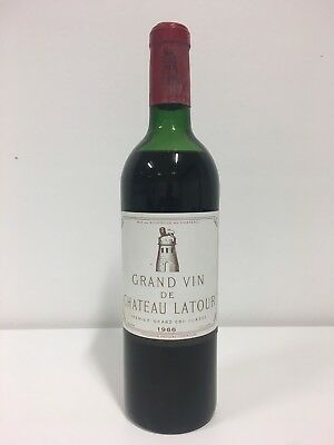 Very Rare Bottle of 1966 Chateau Margaux 1er Grand Cru Classe Margaux