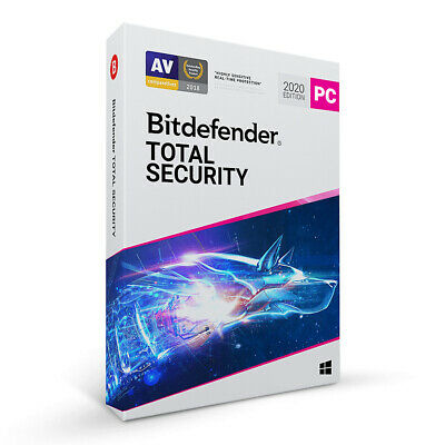 BitDefender Total Security Latest Version | 1 Device | 1 Year Central Account