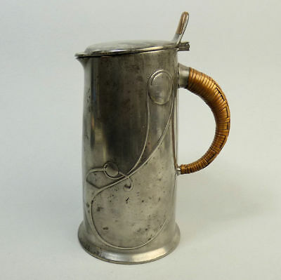 Liberty & Co Tudric Arts & Crafts Pewter Water Jug #0305 Archibald Knox C.1905