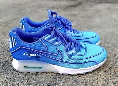 6cabb44bfb45 Nike Air Max 90 Ultra 2.0 Breathe Women s Shoes Polarized Blue 917523-400  ...