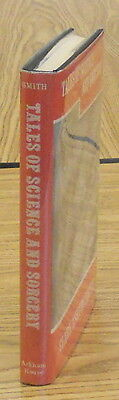 Clark Ashton Smith. TALES OF SCIENCE AND SORCERY. Arkham, 1964. 1st HC/DJ. NF/NF