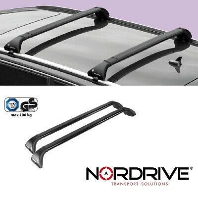 NORDRIVE SNAP Dachträger für MB GLE W166 - Mit Reling - 2015+