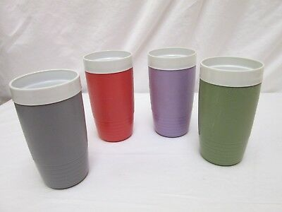 Vintage Sun-Frost Therm-O-Ware Lot Of 4 - 10 Oz. Glasses