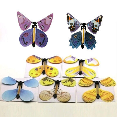Magic Greeting Card Flying Butterfly Works With Allgreeting Cards Gift Surprise