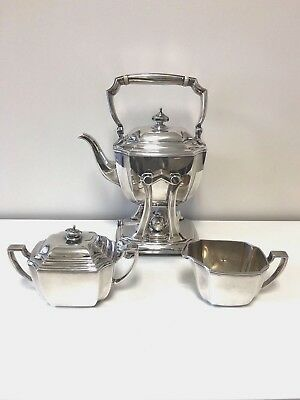 Vintage Tiffany & Co. HAMPTON Sterling Silver 3-Piece Coffee / Tea Set #18889