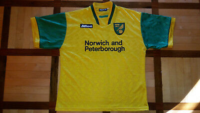 NORWICH CITY! 1996-97! shirt jersey trikot maglia! VERY GOOD! 42/44 - adult