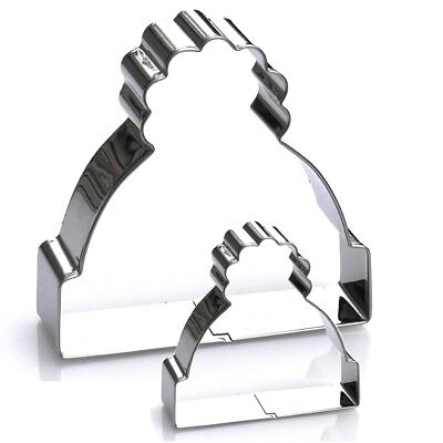Winter Hat Cookie Cutter Set, 2 Piece, Stainless Steel
