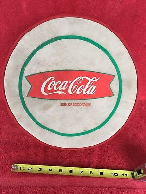 Vintage Coca Cola Fishtail Picnic Cooler Coke Soda Pop Carrier Advertising Sign