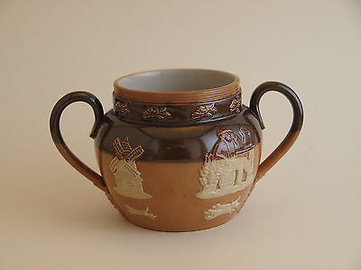 Antique Royal Doulton Harvest Ware Condiment Pot