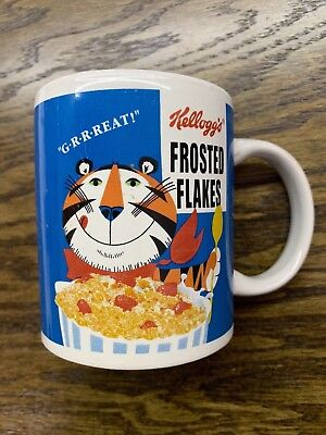 Kelloggs frosted flakes tony the tiger collectable coffee mug