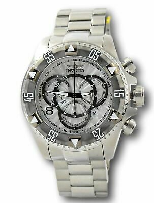 Invicta Excursion Men's 24262 Silver Dial Swiss Chronograph Watch 52 mm