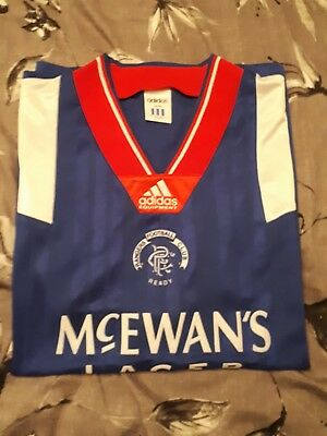 Rangers 1992 - 94 original vintage shirt. Not signed
