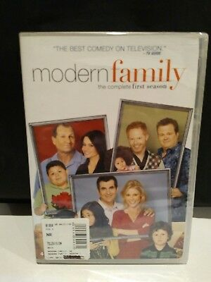 Modern Family: The Complete First Season - DVD 4-disc set - TV comedy - NEW