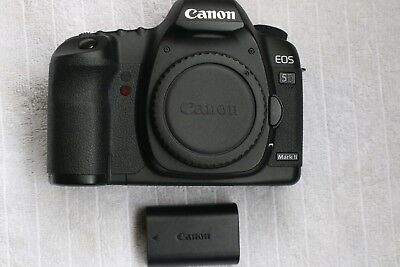 Canon EOS 5D Mark II Full Frame DSLR Camera shutter count 731