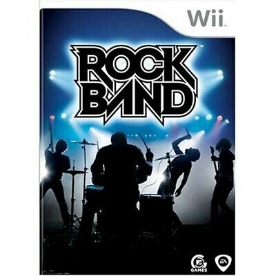 Nintendo Wii Game Rock Band Rock Band 1 New Item