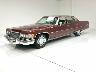 1976 Cadillac Sedan DeVille  500ci V8 1 Repaint Great Driving Example