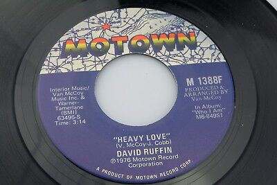 David Ruffin: Love Can Be Hazardous to Your Health / Heavy Love [Unplayed Copy]