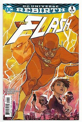 The Flash vol. 5 #1 - August 2016
