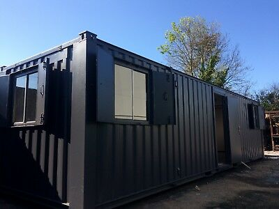 32x9ft Anti-Vandal Site Office / Site Cabin / Portable Building / 4500+VAT