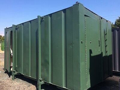 16x9ft 3+1 Anti Vandal Site Toilet / Toilet Block /Portable Building / 2400+VAT