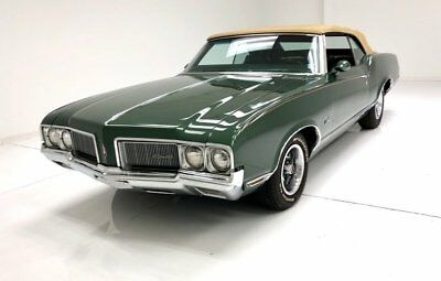 1970 Oldsmobile Cutlass Convertible 350ci Rocket V8 Nicely Restored Lots of Power Options