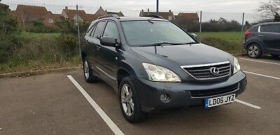 Lexus-RX-400H-HYBRID-TOP-SPEC 82K miles AUTO-2006-very low tax GREAT FUEL 53/MPG