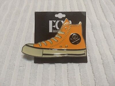 Converse Shoe Belt Buckle NEW W/Skull Awesome RARE