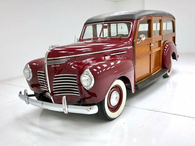 1940 Plymouth Woody Station Wagon  Excellent Restoration  1 of 3,126 Built Great Driving Example